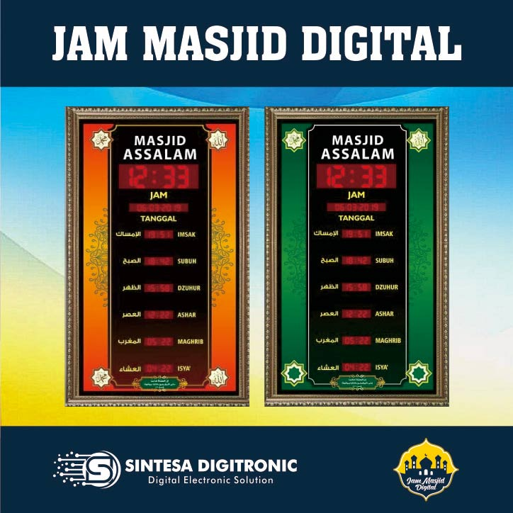jam masjid digital