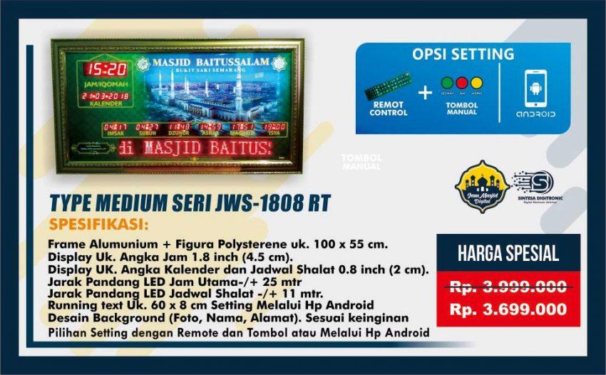 jual jam masjid digital