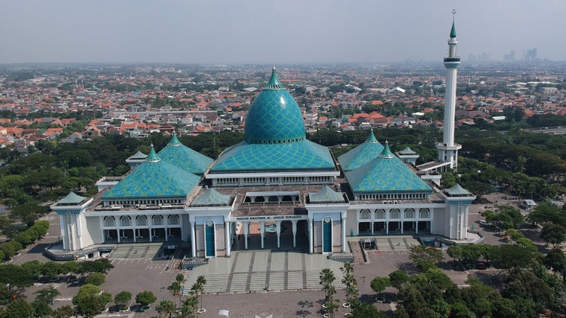 Masjid Terbesar di Asia Tenggara