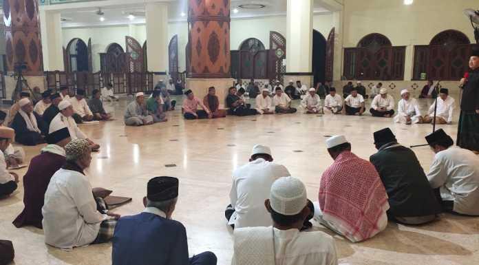Susunan Panitia Pembangunan Masjid
