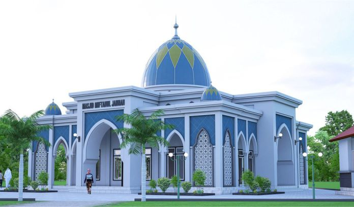 Warna Cat Masjid Minimalis 1