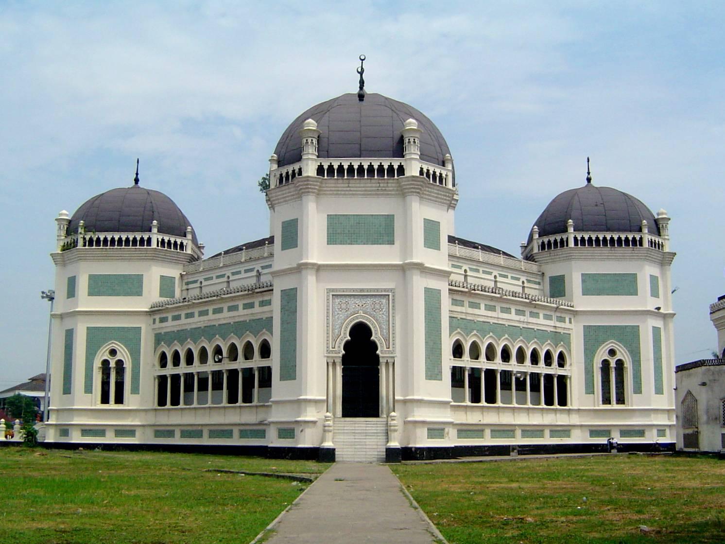 bagian-bagian masjid dan fungsinya
