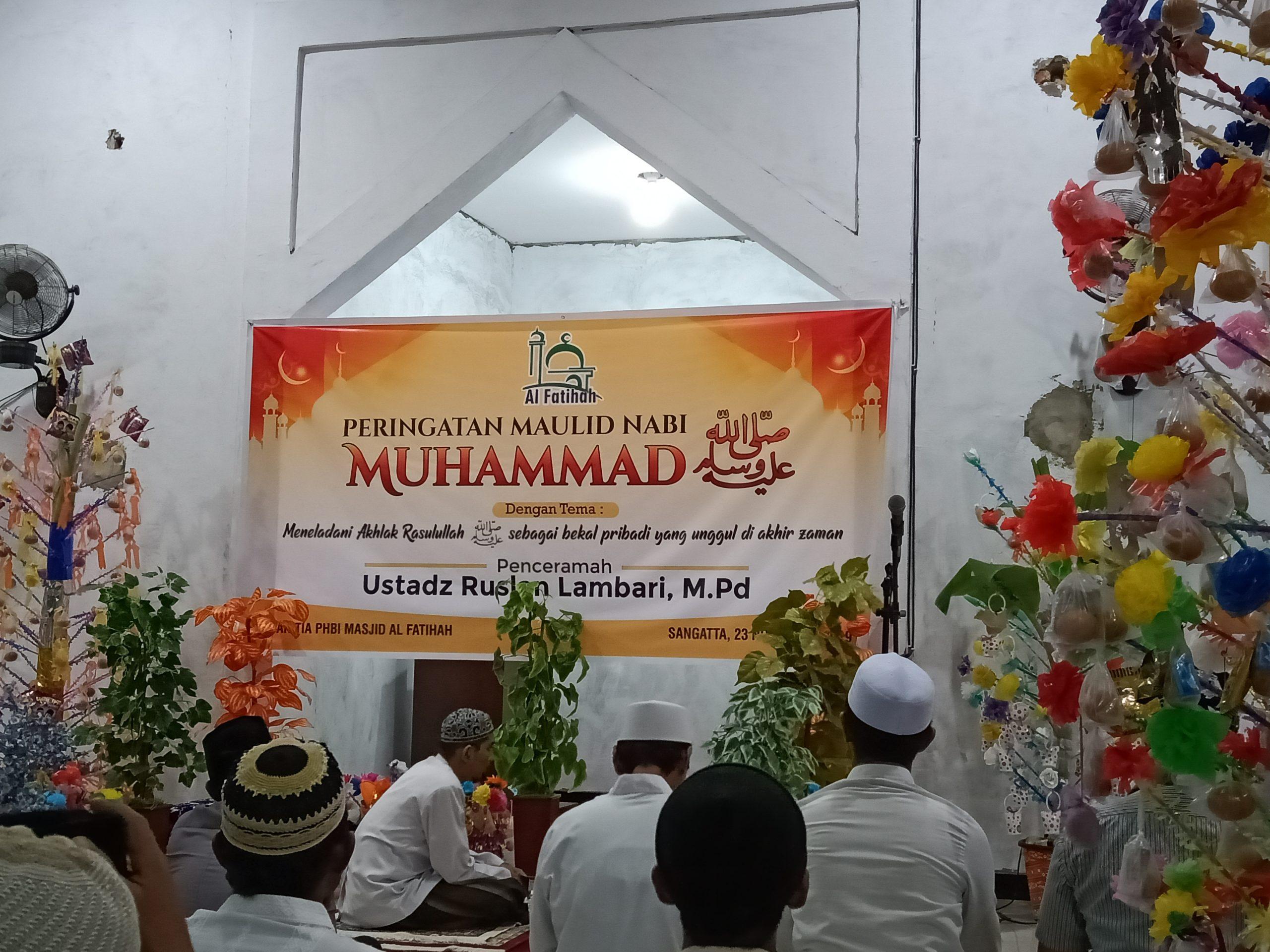 Contoh Susunan Acara Maulid Nabi di Masjid