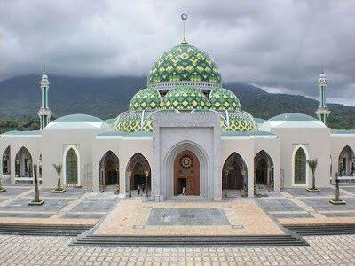 Gambar Masjid Tampak Depan