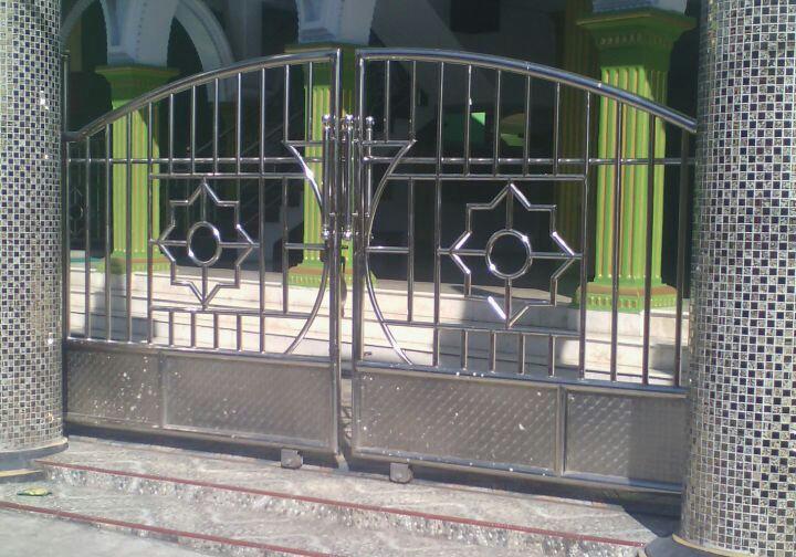 Pagar Masjid Minimalis Modern