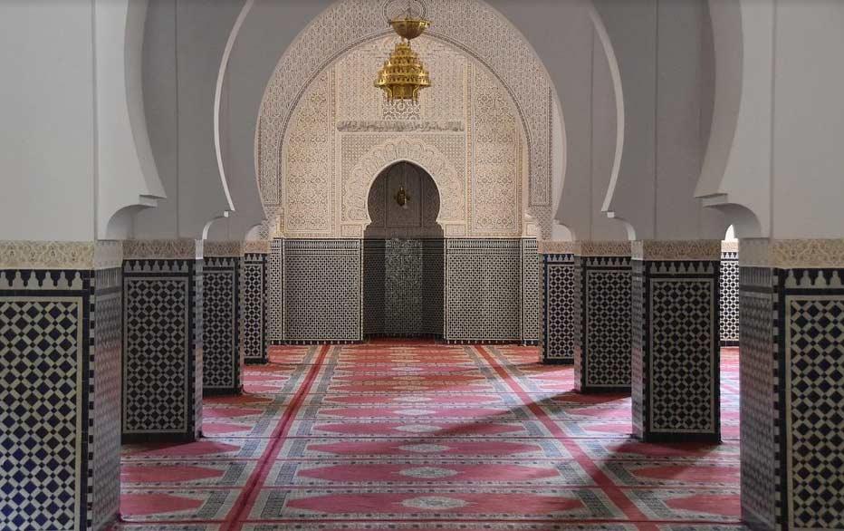 Warna Granit Dinding Masjid,