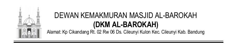 kop surat DKM Masjid